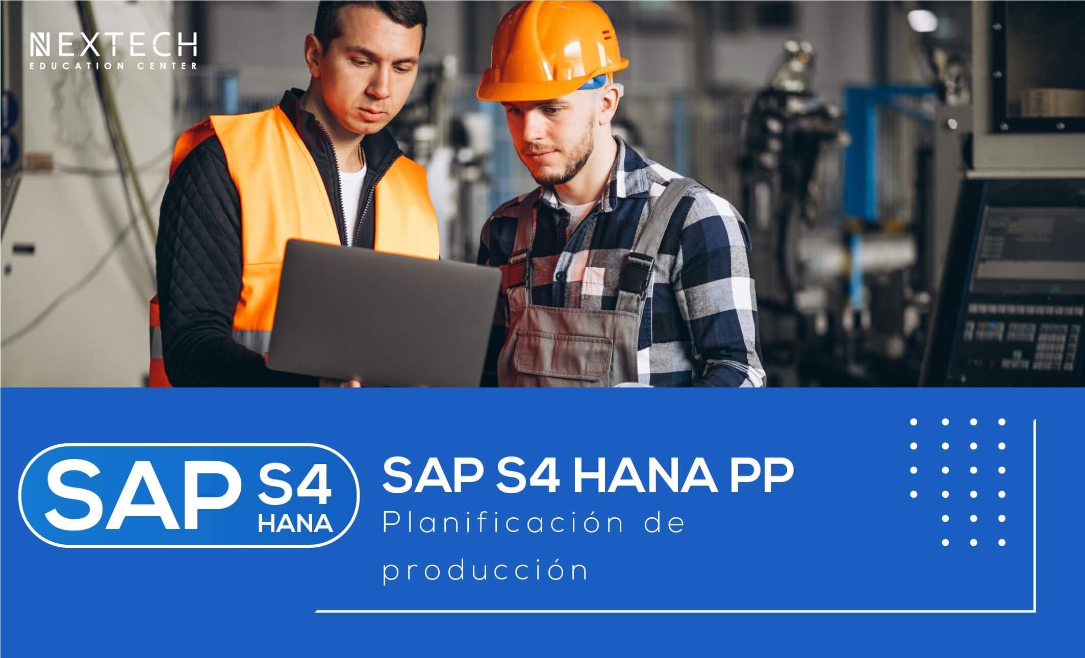 SAP S/4 HANA PP