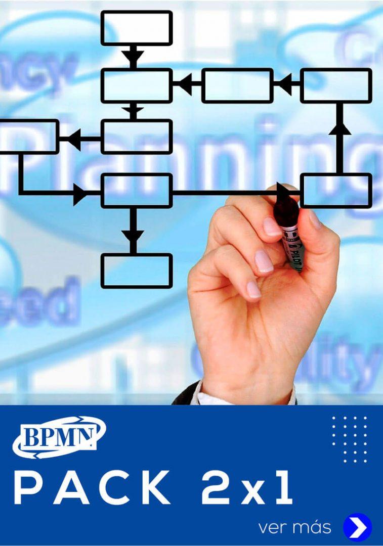 pack de cursos bpmn con bizagi análisis modelamiento y simulación de datos