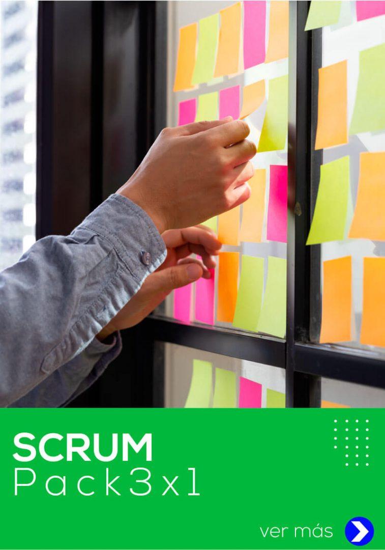 curso pack scrum fundamentos scrum developer scrum master