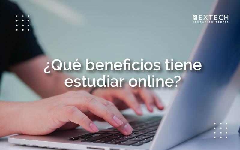 beneficios de estudiar online
