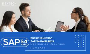 Entrenamiento SAP S4 HANA HCM