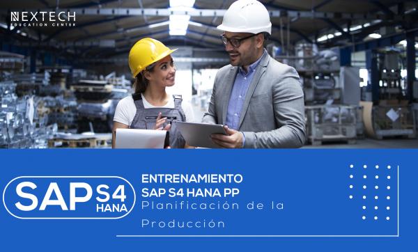 Entrenamiento SAP S4 HANA PP