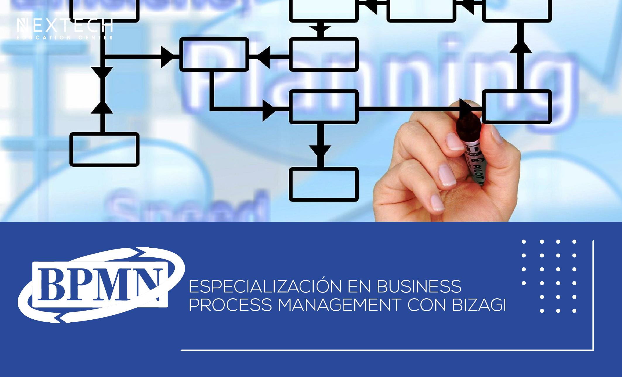 Especialización en Business Process Management con BIZAGI