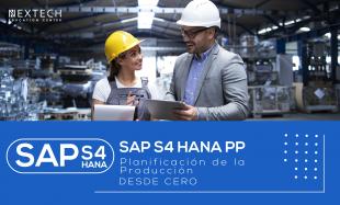 SAP S4 HANA PP DESDE CERO